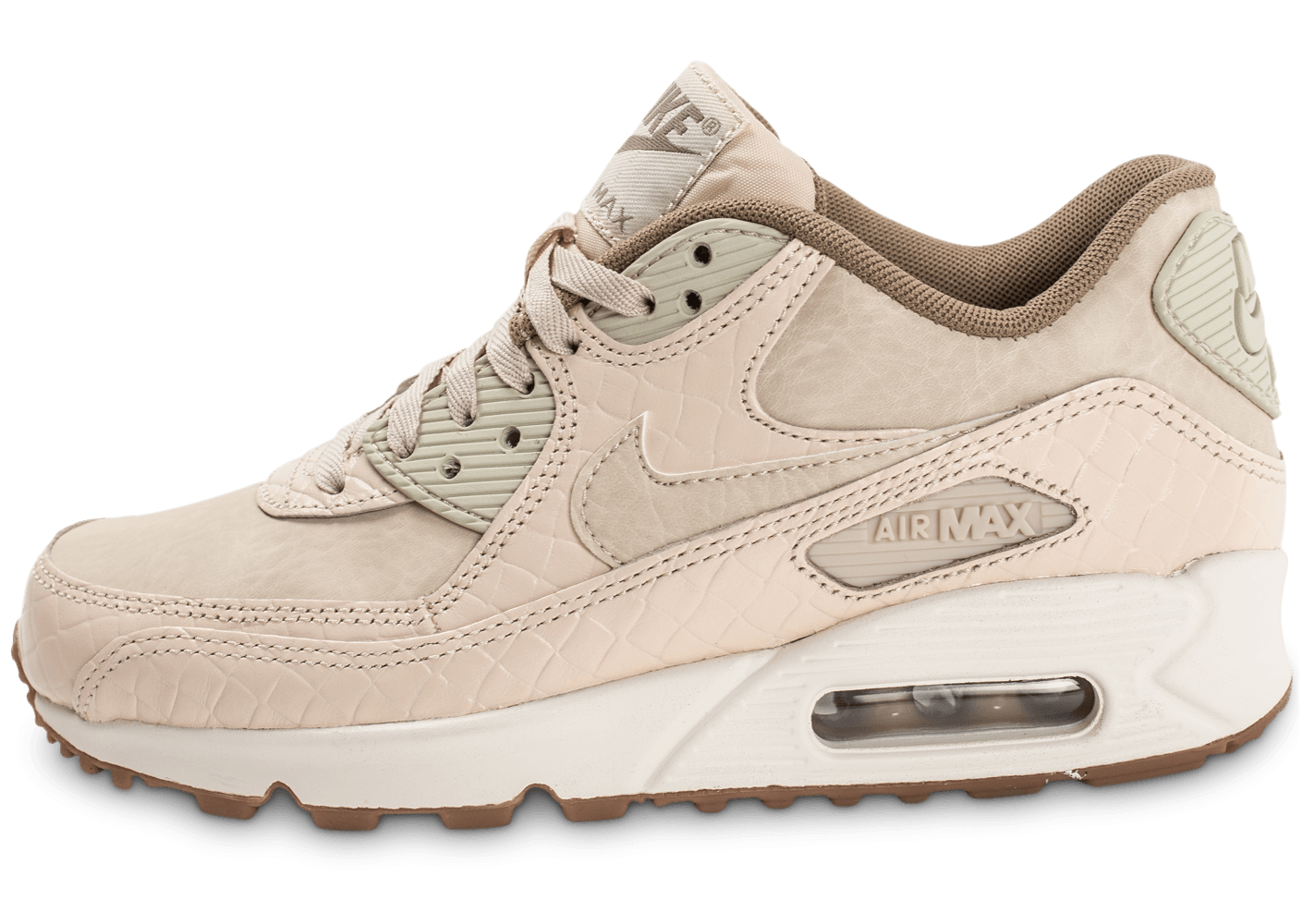 quality design 58ff0 6f3e4 Off-White x Nike Air Max 90 Desert Ore ... Chaussures Nike Air Max 90  Premium beige vue avant ... Nike Air Max 90 Essential Homme Nike Air Max 90  Essential ...